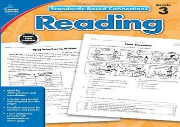 [+]The best book of the month Reading, Grade 3 (Common Core Connections)  [NEWS]