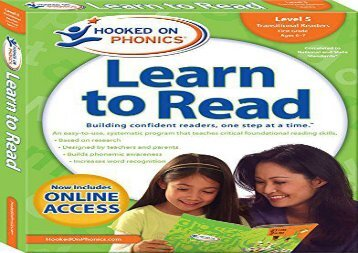 [+]The best book of the month Hooked on Phonics Learn to Read - Level 5: Transitional Readers (First Grade - Ages 6-7)  [FULL]