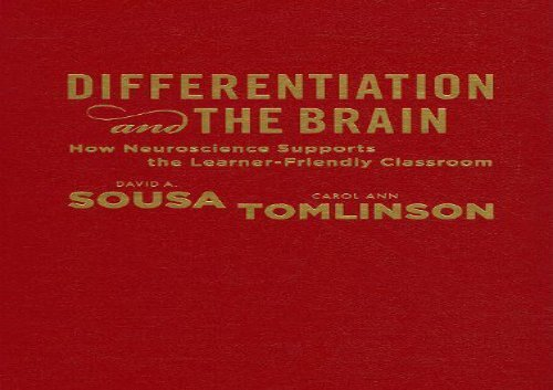 [+]The best book of the month Differentiation and the Brain: How Neuroscience Supports the Learner-Friendly Classroom  [FREE]