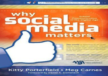 [+]The best book of the month Why Social Media Matters: School Communication in the Digital Age  [FREE]