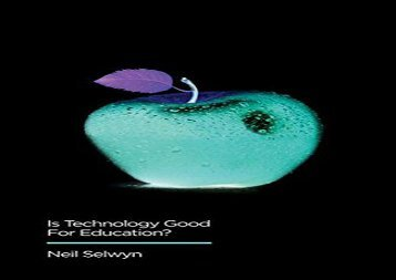 [+][PDF] TOP TREND Is Technology Good for Education? (Digital Futures)  [DOWNLOAD]
