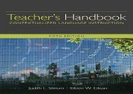 [+]The best book of the month Teacher s Handbook: Contextualized Language Instruction (World Languages)  [READ]