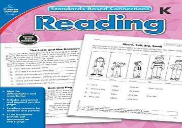 [+]The best book of the month Reading, Grade K (Common Core Connections)  [FULL]