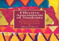 [+][PDF] TOP TREND Effective Assessment of Students: Determining Responsiveness to Instruction  [NEWS]