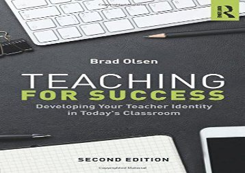 [+]The best book of the month Teaching for Success  [DOWNLOAD]