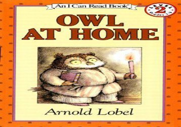 [+][PDF] TOP TREND Owl at Home (I Can Read Books: Level 2)  [FULL]