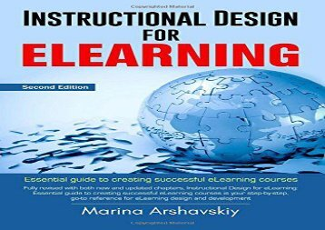 [+][PDF] TOP TREND Instructional Design for eLearning: Essential guide for designing successful eLearning courses  [NEWS]
