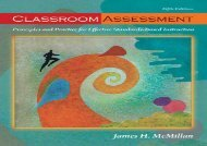 [+][PDF] TOP TREND Classroom Assessment: Principles and Practice for Effective Standards-Based Instruction  [READ]
