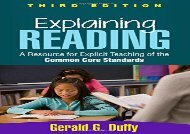 [+][PDF] TOP TREND Explaining Reading, Third Edition: A Resource for Explicit Teaching of the Common Core Standards  [FREE]