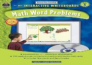 [+][PDF] TOP TREND Interactive Learning: Math Word Problems Grd 3  [FREE]