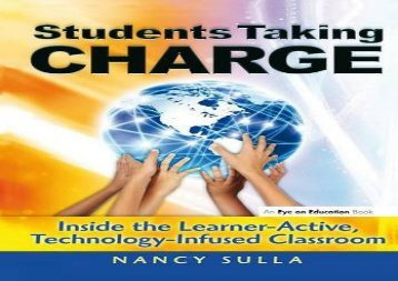 [+]The best book of the month Students Taking Charge: Inside the Learner-Active, Technology-Infused Classroom  [NEWS]