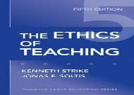 [+][PDF] TOP TREND The Ethics of Teaching (Thinking About Education) [PDF]