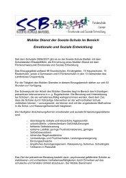 Mobiler Dienst der Soeste-Schule im Bereich Emotionale und ...