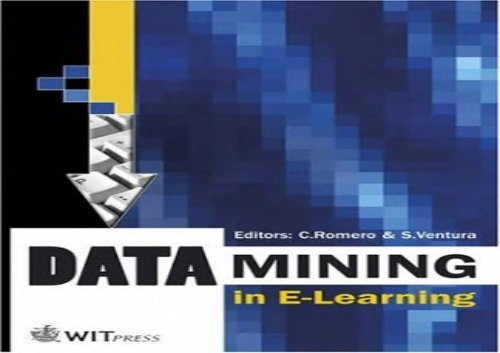 [+][PDF] TOP TREND Data Mining in E-Learning (Advances in Management Information)  [DOWNLOAD]