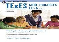 [+][PDF] TOP TREND TExES Core Subjects EC-6 (291) (Texes Teacher Certification Test Prep) [PDF]
