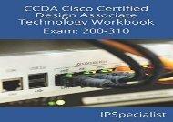 [+]The best book of the month CCDA Cisco Certified Design Associate Technology Workbook: Exam: 200-310  [FREE]