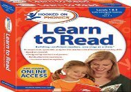 [+]The best book of the month Hooked on Phonics Learn to Read - Levels 1 2 Complete: Early Emergent Readers (Pre-K - Ages 3-4) (Learn to Read Complete Sets)  [FULL]