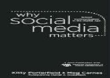 [+][PDF] TOP TREND Why Social Media Matters: School Communication in the Digital Age  [READ]