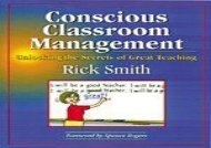 [+]The best book of the month Conscious Classroom Management: Unlocking the Secrets of Great Teaching  [DOWNLOAD]
