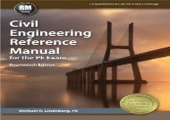 [+]The best book of the month Civil Engineering Reference Manual for the PE Exam [PDF]