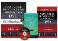[+]The best book of the month What Great Principals Do Differently DVD and Facilitator s Guide  [NEWS]