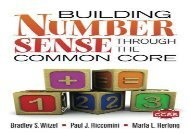 [+][PDF] TOP TREND Building Number Sense Through the Common Core  [FREE]