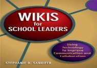 [+][PDF] TOP TREND Wikis for School Leaders: Using Technology to Improve Communication and Collaboration  [DOWNLOAD]