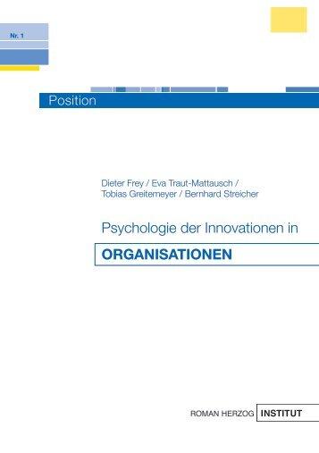 organisationen - Roman Herzog Institut
