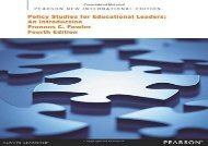 [+]The best book of the month Policy Studies for Educational Leaders: Pearson New International Edition:An Introduction  [NEWS]
