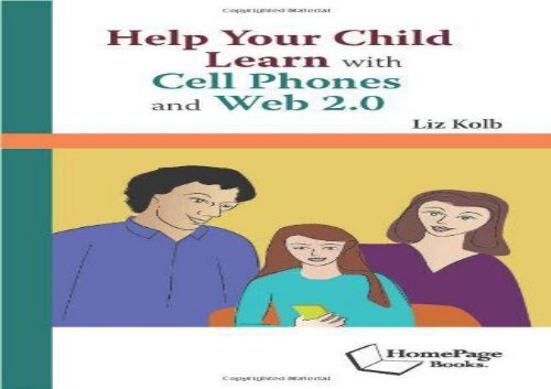 [+]The best book of the month Help Your Child Learn with Cell Phones and Web 2.0  [NEWS]