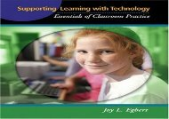 [+][PDF] TOP TREND Supporting Learning with Technology: Essentials of Classroom Practice  [DOWNLOAD]