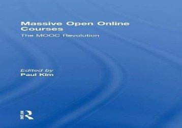 [+][PDF] TOP TREND Massive Open Online Courses: The MOOC Revolution  [FREE]