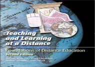 [+][PDF] TOP TREND Teaching and Learning at a Distance: Foundations of Distance Education  [FULL]