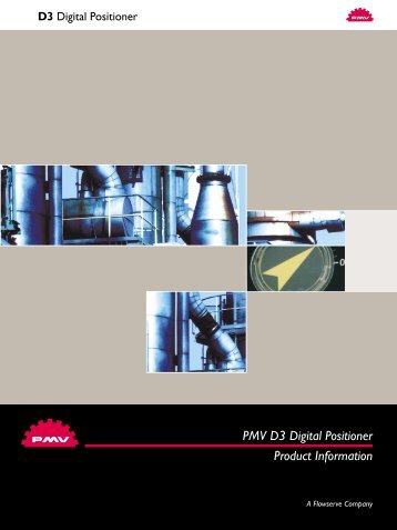 PMV D3 Digital Positioner Product Information - Forgy Process ...