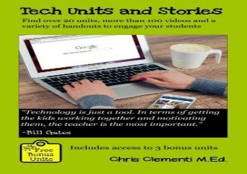 [+][PDF] TOP TREND Tech Units and Stories: Find over 20 units, over 100 videos and a variety of handouts that will engage your students  [DOWNLOAD]