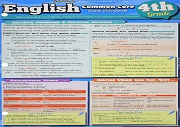 [+]The best book of the month English Common Core 4th Grade  [DOWNLOAD]