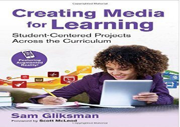 [+][PDF] TOP TREND Creating Media for Learning: Student-Centered Projects Across the Curriculum  [FREE]