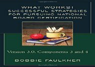 [+][PDF] TOP TREND Successful Strategies for Pursuring National Board Certification (What Works!)  [NEWS]