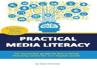 [+]The best book of the month Practical Media Literacy: An essential guide to the critical thinking skills for our digital world [PDF]