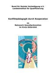 Projekt & Vernetzung - Bund für Soziale Verteidigung