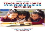 [+][PDF] TOP TREND Teaching Children Who Find Reading Difficult  [DOWNLOAD]