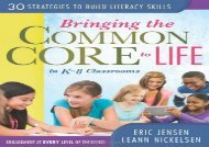 [+][PDF] TOP TREND Bringing the Common Core to Life in K-8 Classrooms: 30 Strategies to Build Literacy Skills  [READ]