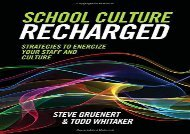 [+]The best book of the month School Culture Recharged: Strategies to Energize Your Staff and Culture  [READ]