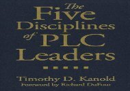 [+]The best book of the month The Five Disciplines of PLC Leaders  [FULL]