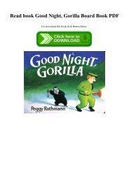 Read book Good Night  Gorilla Board Book PDF