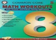 [+][PDF] TOP TREND Common Core Math Workouts, Grade 8 [PDF]