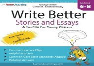 [+][PDF] TOP TREND Write Better Stories and Essays: Topics and Techniques to Improve Writing Skills for Students in Grades 6-8: Common Core State Standards Aligned  [NEWS]