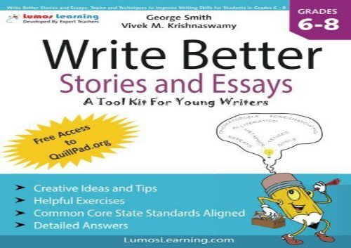 Pdf Top Trend Write Better Stories And Essays Topics And