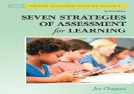 [+][PDF] TOP TREND Seven Strategies of Assessment for Learning (Assessment Training Institute, Inc.)  [FULL]