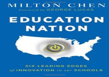 [+][PDF] TOP TREND Education Nation: Six Leading Edges of Innovation in Our Schools (Jossey-Bass Teacher) [PDF]